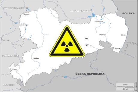 Natürliche Radioaktivität in Sachsen